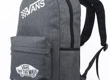 "VANS School Travel Bag 15.6"" Laptop Backpack - Dark Grey"