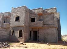 هيكل منزل عين زاره بالقرب من اربعه شوارع زويته