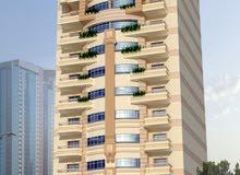 شقة 105متر بأبوليل شارع 16متر دور 2علوى