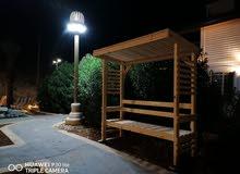 معرش شمسي خشب سويد بسعر مغري180