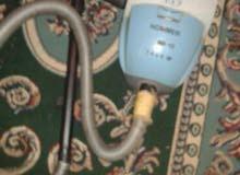 مكنسة كهربائية ودفاية
