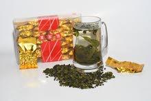 شاي اخضر صيني فاخر جدآ