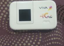 راوتر viva 4G lte بحاله ممتازه