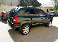 Hyundai Tucson 2005 For sale - Green color