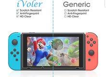 حماية لشاشة السويتش Nintendo switch screen protector tempered glass