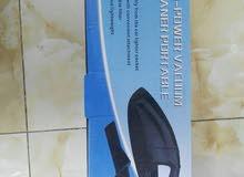 مكنسه كهربائيه خاصه بالسيارات خفيفه وعمليه سهل الاستخدام و قويه في الاداء