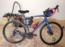 دراجة للرحلات ورود