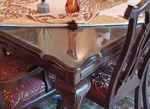 طقم كنب غرفة ضيوف + طاولة سفرة
