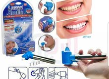 جهاز تنظيف الاسنان المنزلي.