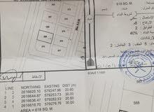 للبيع ارض سكنية في بركاء الفاغرة بـ(5800)رع