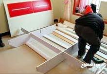 فني فك وتركيب غرف نوم وغرف أطفال وصيانة جميع الأثاث المستعمل