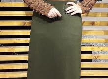 فستان شتوي  قياسات ...44.46.48.50.52.54 السعر .. 20