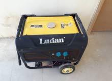 للبيع ... مولدة مستعملة ماركة لوجينااستطاعة /6500/شمعة تعمل على البنزين خزان سعة/25/ ليتر