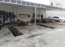 فرصه للبيع كراج في صناعية حي السعد بولاية بهلا