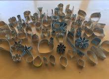 أدوات فنية قوالب معدن خفيفة