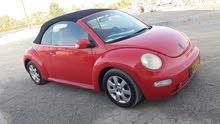 فلوكس واجن بيتل 2004 للبيع او الاستبدال مع سياره اخرى تجديد سنه