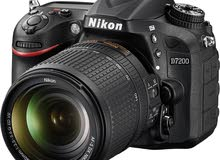 New Nikon d7200 for sale with 18-140 mm lens