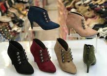 حذاء كعب شامو