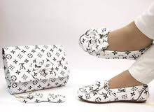 سيت حذاء وجنطة ب15000والسيتينب25000