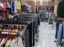 Garments shop with or without goods and equipment