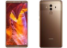 Huawei mate 10 proلون بني موكا  موبايل ميت 10 برو جديد مكفول كفالة الوكيل