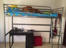 هيكل سرير ايكيا