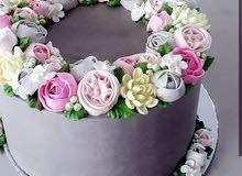 معلمة تزيين كيك تورتات وجاتوهات cake designer