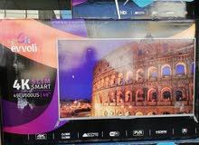 شاشات evvoli ايطالية الصنع جميع الاحجام متوفرة باقل الاسعار