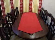 طاولة سفرة 8 كراسي لبيع