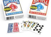 مطلوب كارطة نوع ( بايسكل Bicyclecards  )