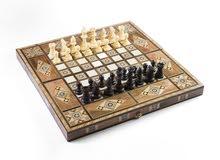 شطرنج خشبية