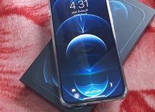 تلفون iPhone بروماكس 12 مستعمل واحد شهر 370 بكامل أغراضه والصامل يبشر وتس