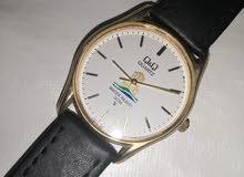 ساعة كيواندكيو يابانيه مستعمله من 30 سنة شعال