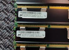 للبيع رامات سيرفر جدد PC3-10600R 4GB