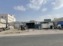 كراجين او مخزنين للايجار شارع 10 الصناعية