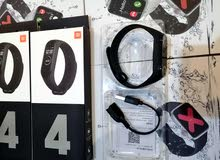 ساعات شبيهة أبل الجيل الخامس آخر إصدار +ساعة أسوار شاومي باند 4