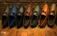 حذاء جلد طبيعي موديل تركي