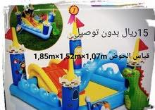 يوجد مسبح الأطفال إشكال وأحجام