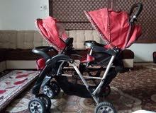 عربه اطفال مقعدين ماركة كيكو (kiko )الايطاليه.