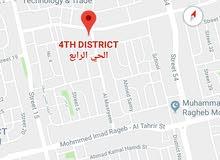 روف بمدينه السادس من أكتوبر الحي الرابع بمساحه 240م