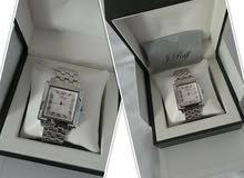 ساعة رجالي الماس اصلي للجادين
