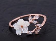 خاتم الوردة. Flower ring