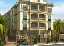 شقة بأفضل مناطق الشروق بحري وبالكامل علي الواجهة مساحة 158م