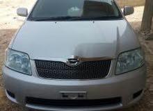 للبيع سيارة تويوتا كورولا أوروبي طويل موديل 2005 كرت