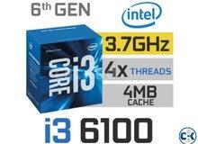 معالج i3 6100 للبيع بسعر مغري
