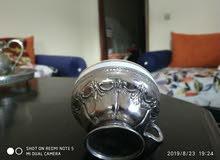 كأس سيراميك وفضة