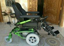 كرسي كهربائي متحرك جديد متطور أوروبي
