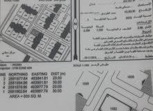 للبيع اراضي سكنيه ف حي الرفعه 20