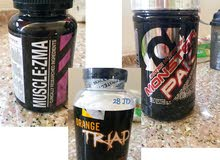 Supplements set: MONSTER PACK, ORANGE TRIAD and MUSCLE ZMA