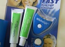 لتنظيف اسنانكم White Light Teeth